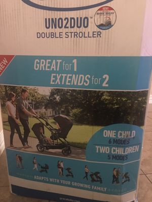 Graco Uno2Duo Double Stroller for Sale in Houston, TX