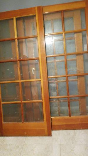 5 doors all wood 79 x 35 3/4 for Sale in Baldwin Park, CA