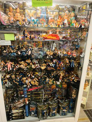 Wrestling action figures WWF wwe, nwo, WCW, and other wrestling items and other items. for Sale in Phoenix, AZ