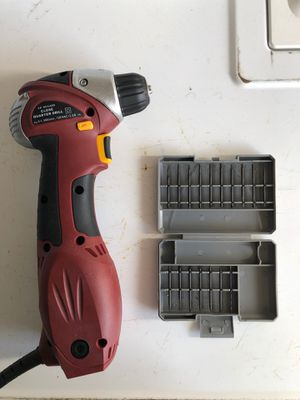 Chicago Electric, 3/8 close quarter drill with keyless chuck for Sale in Manteca, CA