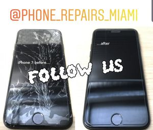 IPHONE 7 LCD BLACK AND WHITE for Sale in Miami, FL