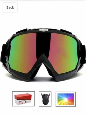Feier Yusi Adult Professional Ski Goggles Snowmobile Snowboard Skate Snow Skiing Goggles with 100% UV400 Protection Bright Lens TPC Frame Material An for Sale in San Diego, CA