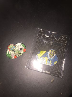 Oculus Facebook Gaming Collectible Pins for Sale in Federal Way, WA
