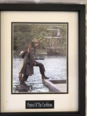 Framed Johnny depp still for Sale in WILKINSONVILE, MA