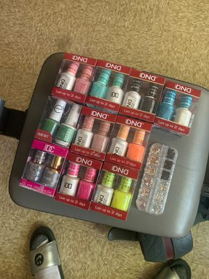 DND polish duo's with rhinestones for Sale in Maple Heights, OH