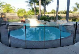 65 ft black removable mesh pool fence for Sale in Mesa, AZ