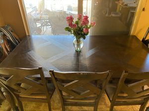 "Elegant dining room/ kitchen table. 71X31"" for Sale in Mesa, AZ"