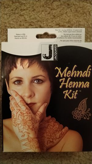 Mehndi Henna kit for Sale in San Dimas, CA
