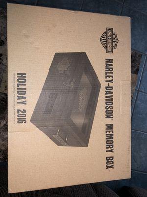 Harley Davidson box for Sale in Fontana, CA
