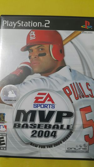 MVP BASEBALL 2004 FOR PS2 for Sale in Miami Gardens, FL