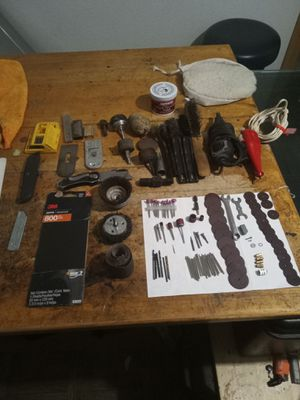 Metabo w7 - 1/5 quick right angle grinder. Has repaired cord for Sale in Rio Linda, CA