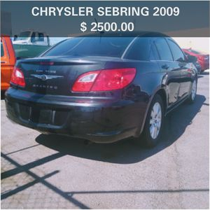 SEBRING CHRYSLER 2009✳️ AUTOMATIC✳️ 180000+ MILES ✳️ SMOG IN HAND✳️ CLEAN TITLE✳️ 4 CILINDERS ✳️ IT RUNS GOOD✳️ HABLO ESPAÑOL✳️ for Sale in Las Vegas, NV