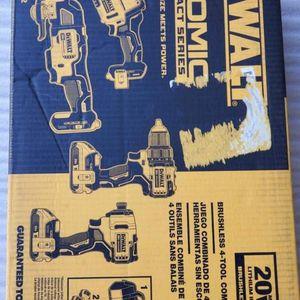 Dewalt Combo kit (4) Tools Brushless Atomic 20V for Sale in Norwalk, CA