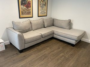 Grey Couch for Sale in Fort Lauderdale, FL