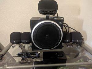 LOGITECH Z-640 5.1 SPEAKERS for Sale in Moreno Valley, CA