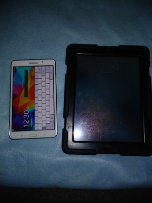 Samsung Galaxy Tab 4 and iPad 2 like new condition for Sale in Dallas, TX