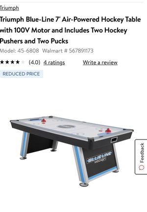 Brand New air hockey table for Sale in Chicago, IL