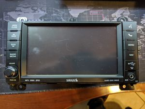 Dodge Durango OEM SiriusXM DVD player with HDD for Sale in Houston, TX