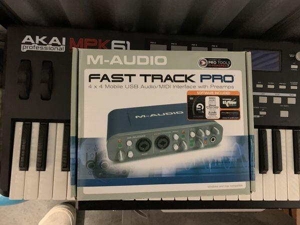 M-Audio Fast Track Pro Audi/MIDI Interface