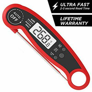 Meat Thermometer Instant Read, Waterproof Alarm Meat Thermometer with Calibration and Backlit, Digital Thermometer with Long Probe for Sale in Altamonte Springs, FL
