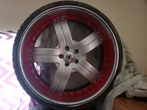 24 inch rims $500.00 for Sale in Avon Park, FL