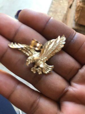 Gold Eagle Charm for Sale in Laveen Village, AZ