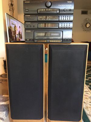 Pioneer Stereo with 3 way Speaker System for Sale in Tempe, AZ