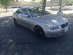 2006 BMW 5 series sports car!! Leather. Sunroof. Push start SIMILAR TO CADILLAC JAGUAR MERCEDES LEXUS ACURA for Sale in Phoenix, AZ
