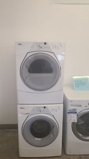 White Whirlpool Washer and Dryer set #62 for Sale in Denver, CO