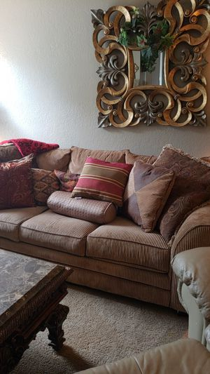 Large sofa. 8 pillows included. 150.00 for Sale in Abilene, TX