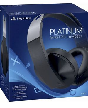 Sony Platinum Wireless Headset for PlayStation 4 for Sale in Woonsocket, RI