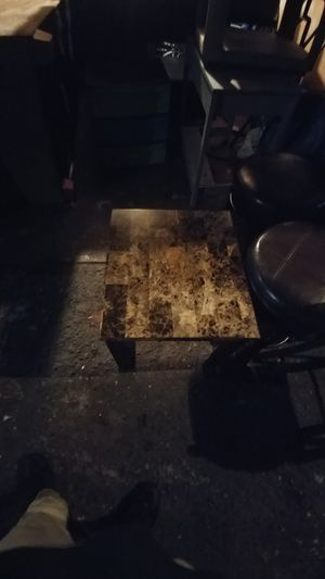 2 marble top end tables for Sale in Fresno, CA
