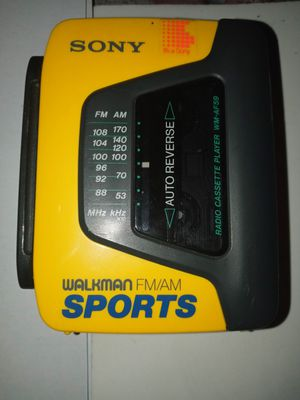 SONY SPORTS WALKMAN FM/AM CASSETTE PLAYER...MODEL # WM-AF69 for Sale in Santee, CA