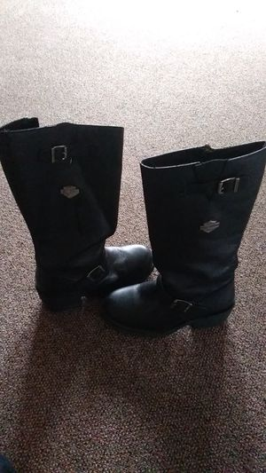 Womens Harley Davidson boots size 9 for Sale in Monroe, MI