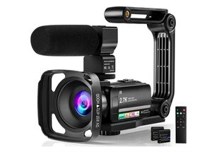 """Video Camera Camcorder Digital Youtube Vlogging Camera, 2.7K Full HD 36MP/30FPS, IR Night Vision, 3.0"""" IPS Touch Screen, 16X Digital Zoom, 2 Batteries for Sale in Rancho Cucamonga, CA"""