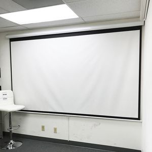 """Brand New $75 Manual Pull Down 120"""" Projector Screen 16:9 Ratio Projection Home Theater Movie for Sale in Whittier, CA"""