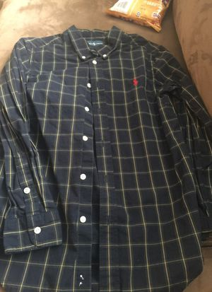 Ralph Lauren polo size 10-12 kids shirt for Sale in Chapel Hill, NC