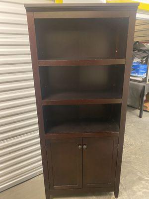 Bookshelf with cabinet for Sale in Kirkland, WA