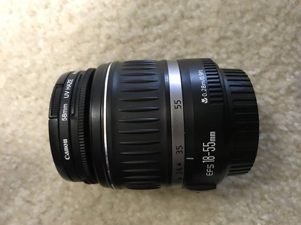 Canon camera lens -2 different lens