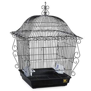 Beautiful bird cage with holding stand for Sale in Hockley, TX