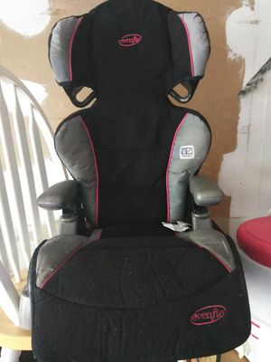 Evenflo  Black, Red & Grey Booster Seat for Sale in Houston, TX