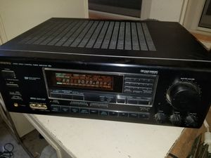 Onkyo tx-sv636 audio video control tuner amplifier. for Sale in Athens, TX