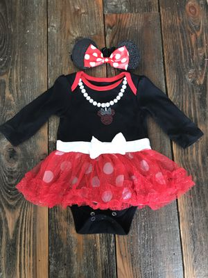 0-3months Minnie Mouse costume for Sale in Vancouver, WA