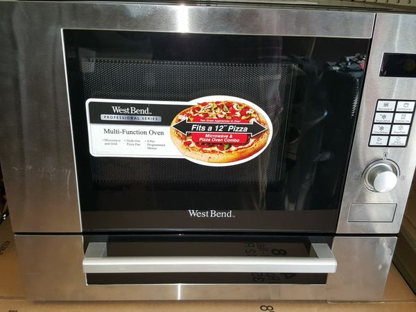 Westbend Microwave Pizza Oven Professional Series 1000 Watts 1 1 Cu Ft For Sale In Detroit Mi Offerup