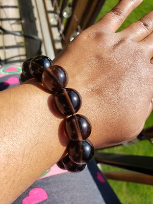 Smokey Quartz Crystal bracelet for Sale in Westerville, OH