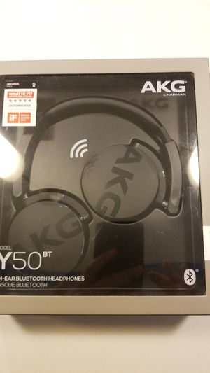 AKG Y50BT by Harman bluetooth headphones for Sale in Seattle, WA