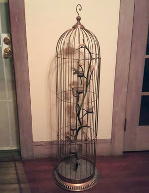 Candle holder Bird cage for Sale in Stockton, CA