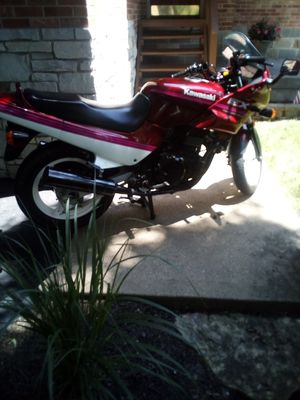 1991 Kawasaki ex 500 motorcycle with title for Sale in Thornton, IL