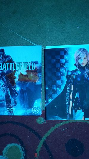 Battlefield 4 and final fantasy 13 lighting returns. Strategy guides free for Sale in Fort Washington, MD