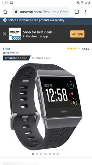 Fitbit smartwatch for Sale in Elmira, NY